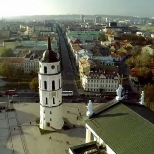 Vilniaus senamiesčio keliais